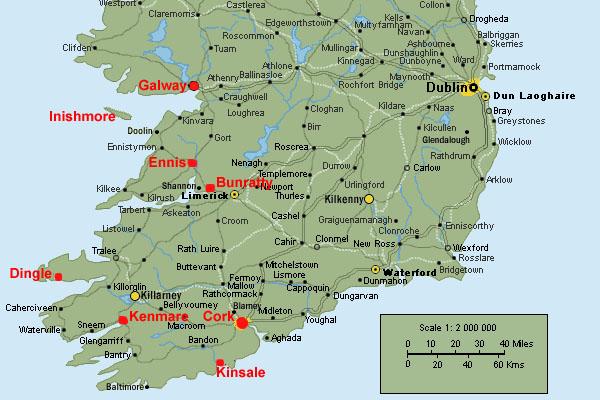 Ireland Trip September 2007